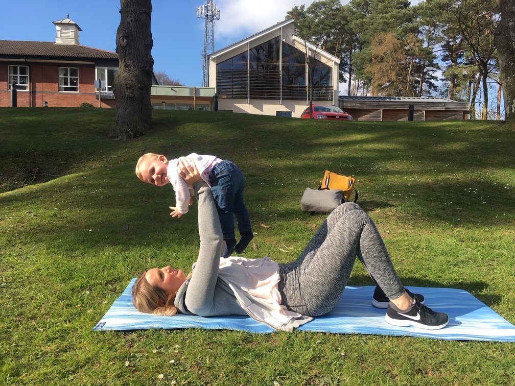 Post-natal physiotherapy